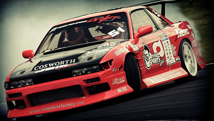 Nissan silvia s13 cars drifting wallpaper