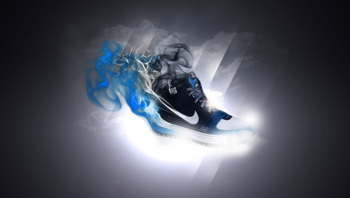 Nike fantasy shoes wallpaper
