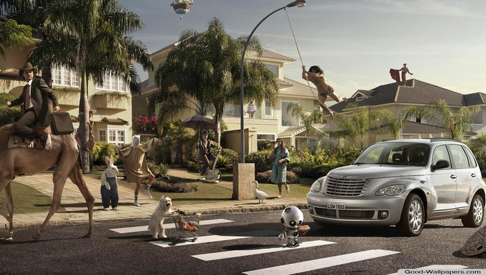 Cityscapes animals funny urban cities wallpaper