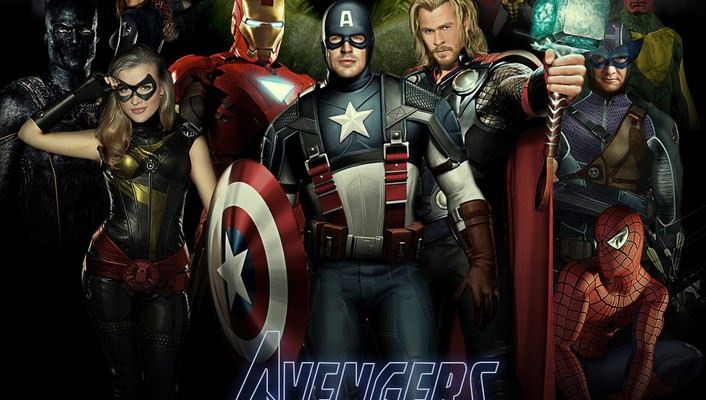 Movies the avengers posters wallpaper