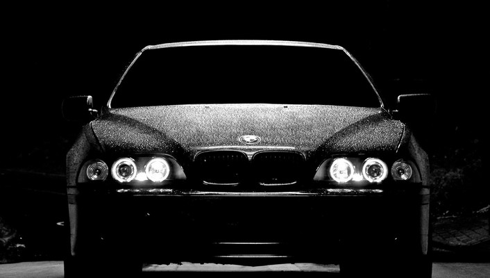 Cars bmw m5 black headlights wallpaper