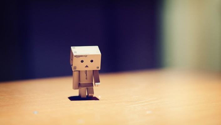 Danbo alone sad wallpaper