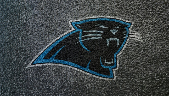 Carolina panthers logo wallpaper