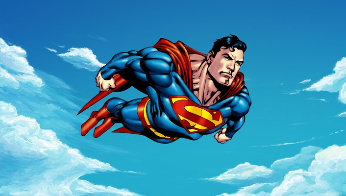 Dc comics superman man of steel wallpaper