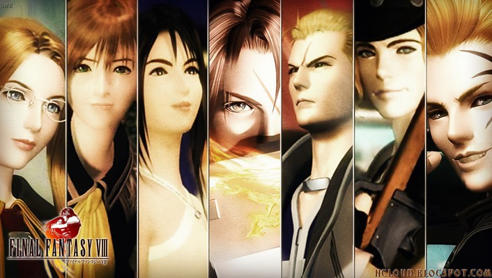 Final fantasy rpg viii playstation square enix wallpaper