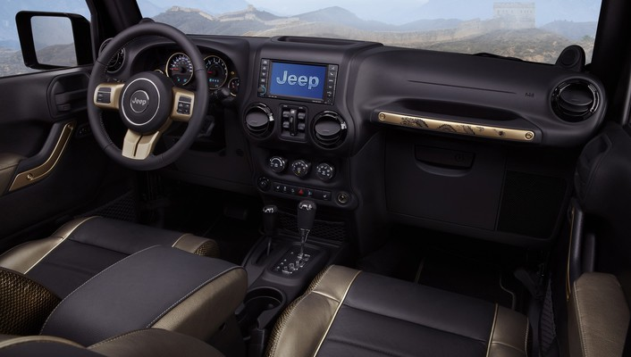 Jeep wrangler cars concept art dashboards design wallpaper