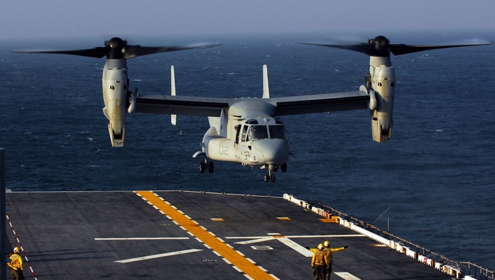 V-22 osprey aircraft helicopters wallpaper