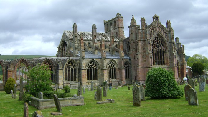 Melrose abbey wallpaper