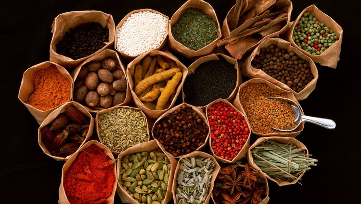 Nature asia colors herbs excited smell taste wallpaper