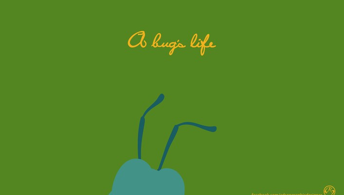 Pixar minimalistic animation bugs life wallpaper