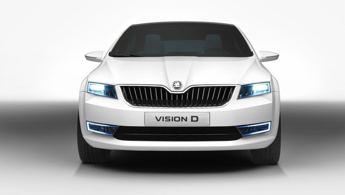 Skoda concept art wallpaper