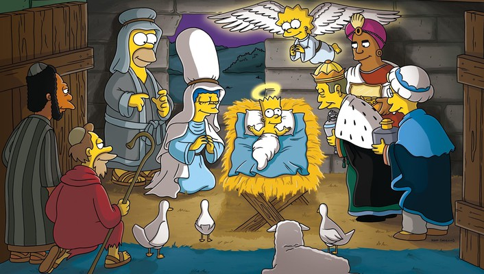 Professor frink nativity tv series seymour skinner wallpaper