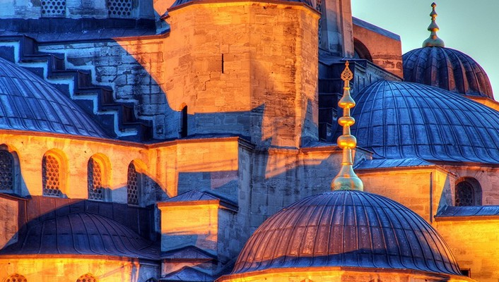 Istanbul mosque wallpaper