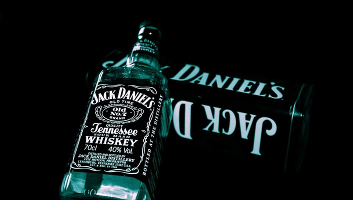 Jack daniels black background wallpaper