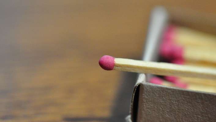 Match matchsticks wallpaper