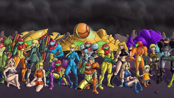 Metroid comics samus aran zero suit chozo wallpaper