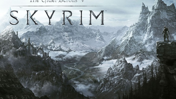 3d the elder scrolls v skyrim video games wallpaper