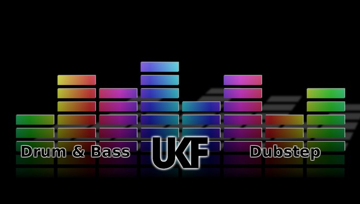 Dubstep ukf gradient equalizer genre electronic music wallpaper