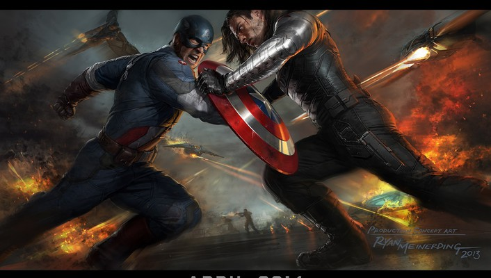 Winter soldier marvel comics ryan meinerding aircraft wallpaper