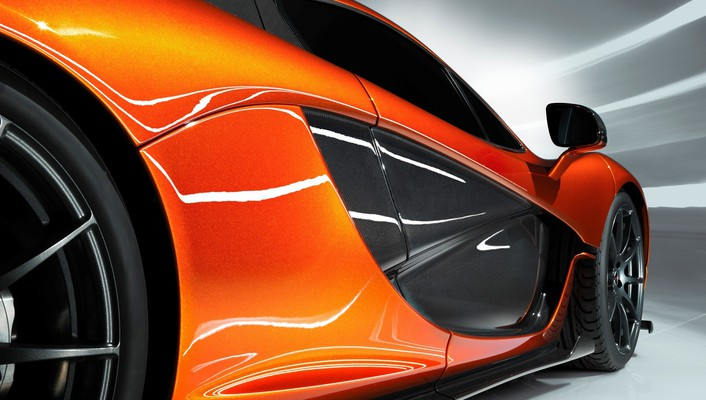 Tuning rims orange cars side mclaren p1 wallpaper
