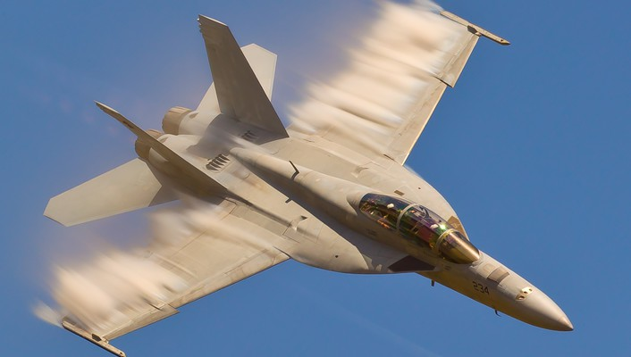 Military people f18 hornet sound barrier fighters jet wallpaper