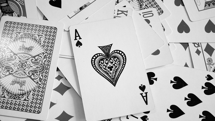 Ace cards karty pik poker wallpaper