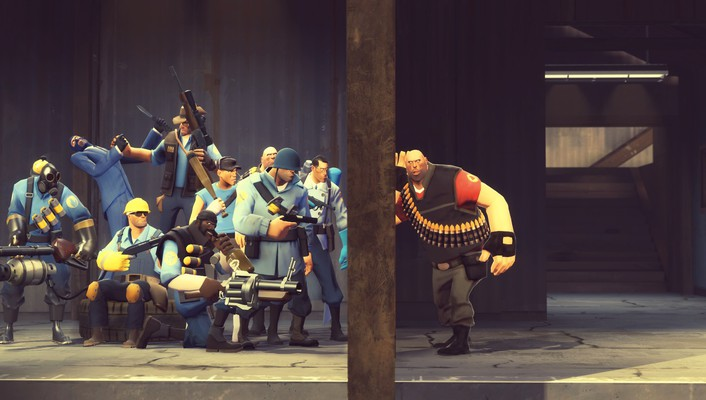 Garrys mod half-life 2 team fortress wallpaper