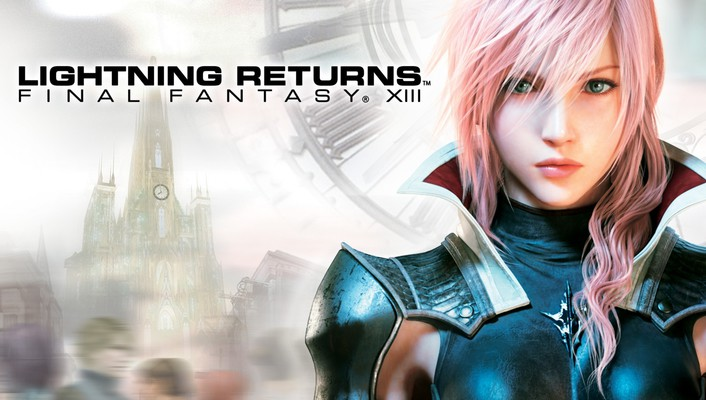 Final fantasy xiii lightning pink hair video games wallpaper