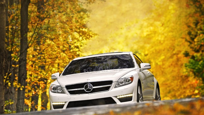 Cl front view mercedes-benz cl-class mercedes benz wallpaper