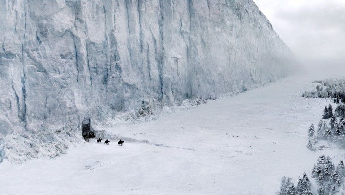 Game thrones tv series the wall landscapes wallpaper