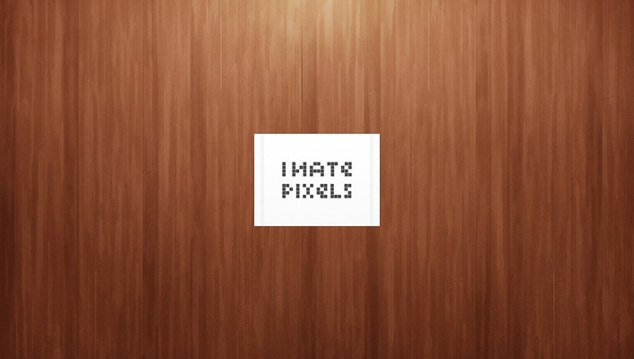 Light minimalistic pixels simple wood wallpaper