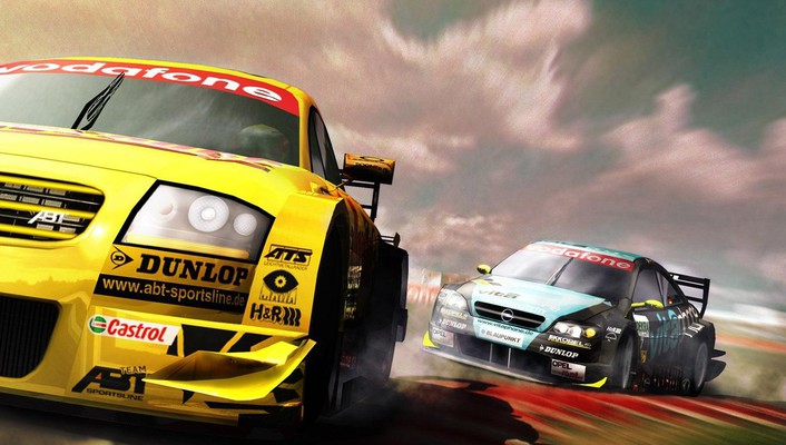 Cars racing wallpaper