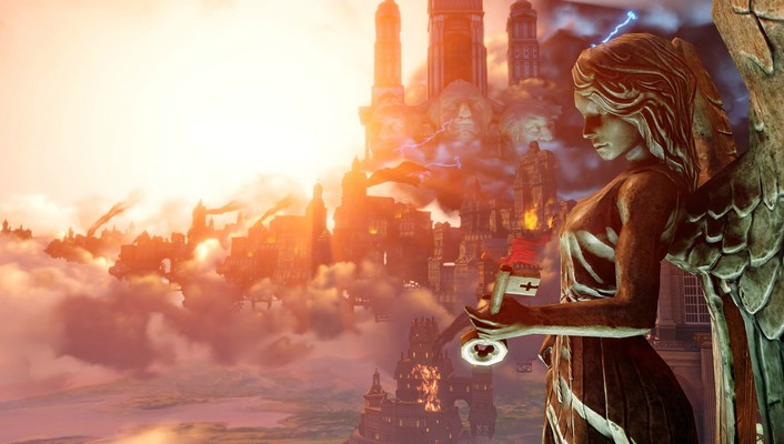 Video games bioshock infinite wallpaper