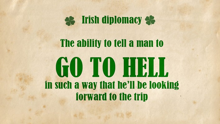 Text irish wallpaper