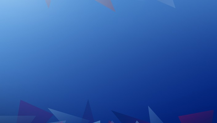 Abstract Blue Shapes Graphic Design 2d Triangles Wallpaper