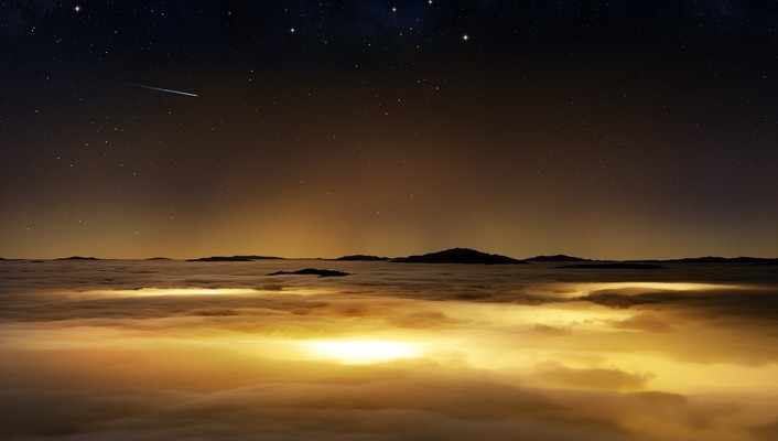 Clouds nature orbit photo manipulation skyscapes wallpaper