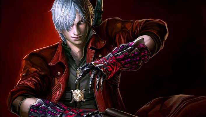 Devil may cry 4 artwork video games wallpaper