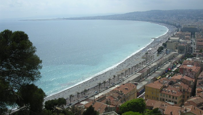 France vue promenade des anglais wallpaper