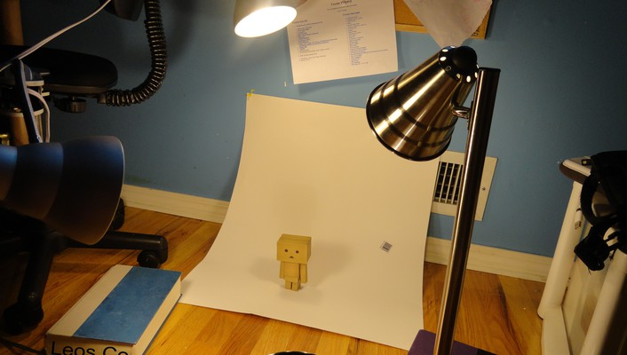 Danbo during his photo wallpaper