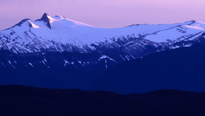 Alaska evening range wallpaper