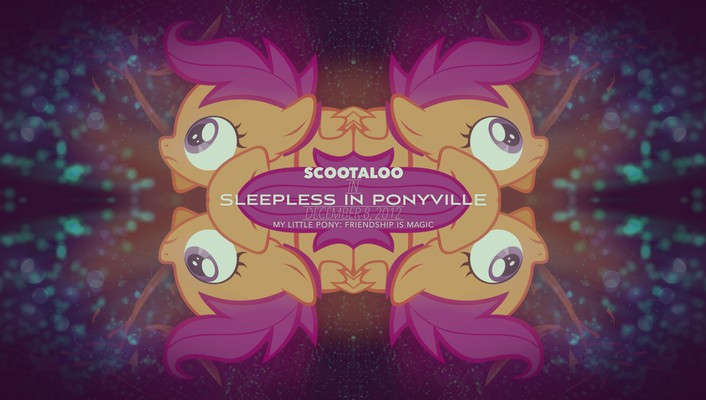 My little pony: friendship is magic ponyville wallpaper