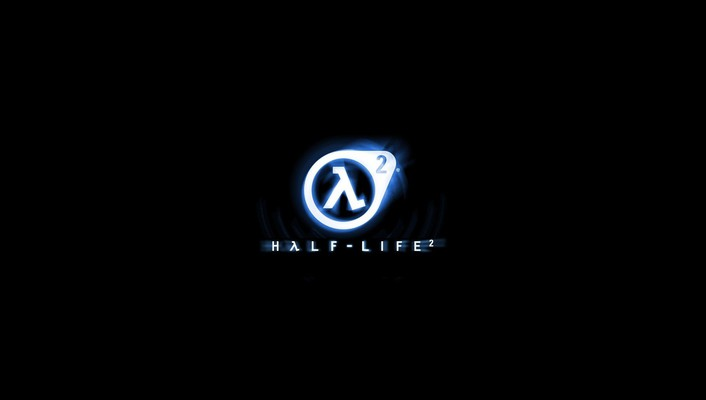 Halflife 2 black background logos video games wallpaper