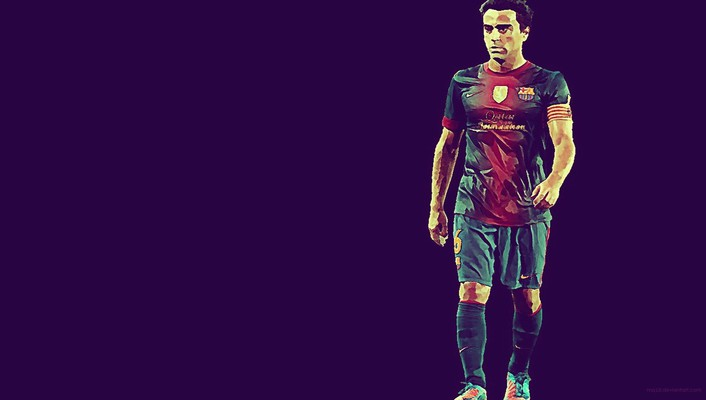 Soccer men professional xavi hernandez football teams wallpaper
