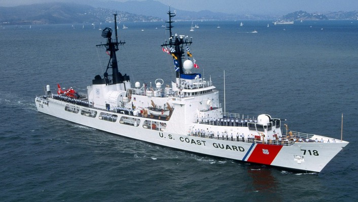 Coast guard sea ships wallpaper