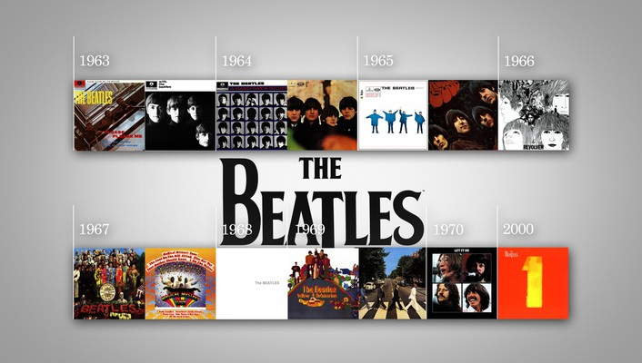 Music the beatles discography wallpaper