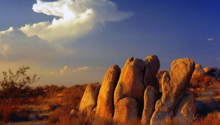 California mojave desert nature skyscapes wallpaper