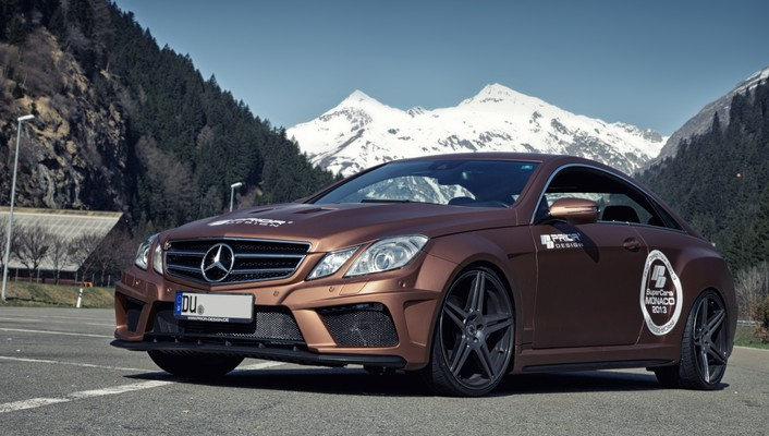 Cars tuning coupe mercedes-benz black edition wallpaper