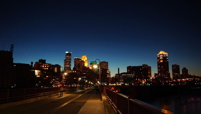 Downtown minneapolis wallpaper