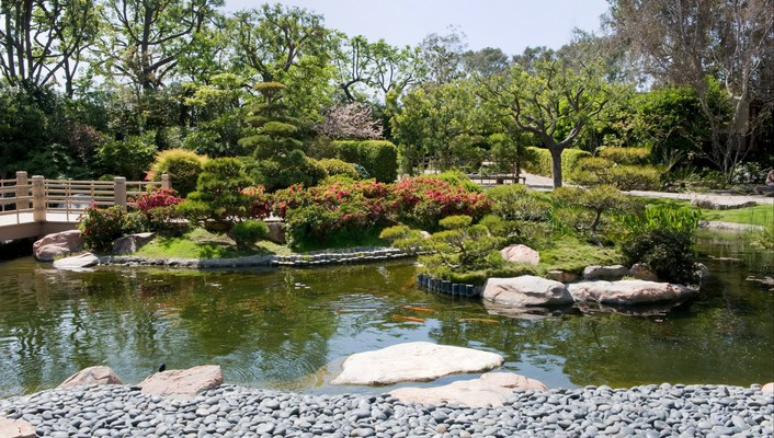 Japanese gardens wallpaper