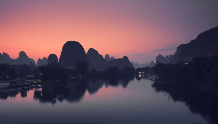 Landscapes china wallpaper
